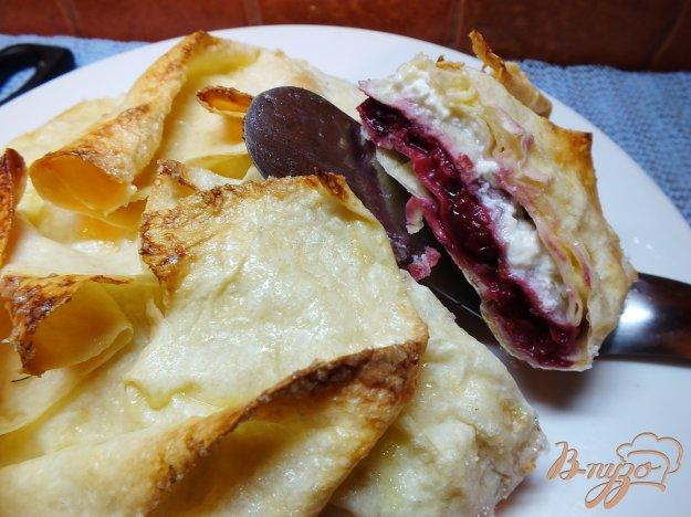 Рецепт Пирог зимняя вишня