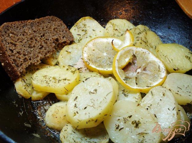 Рецепт Пангасиус запеченный с картошкой