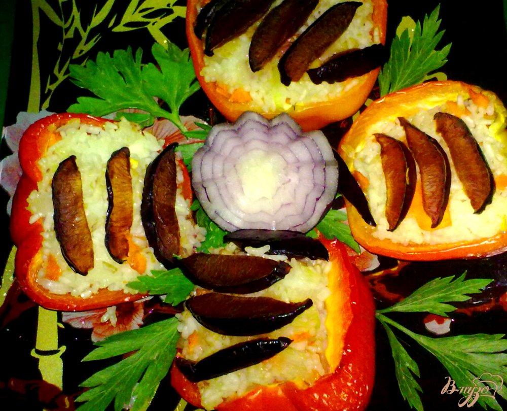 Фото приготовление рецепта: Перец фаршированный шаг №8