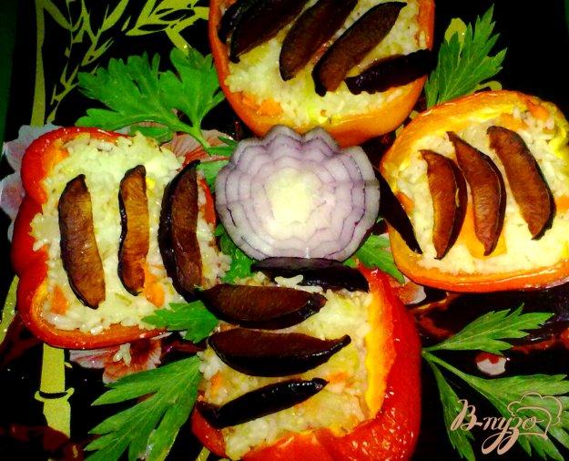 фото рецепта: Перец фаршированный