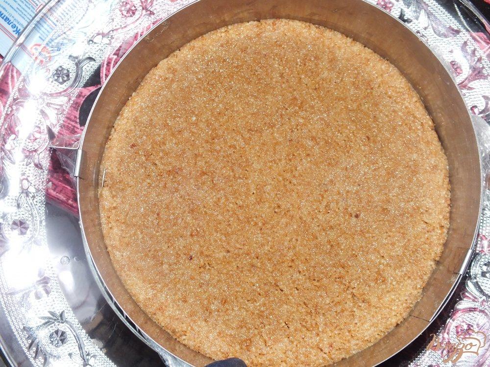 Фото приготовление рецепта: Торт творожный с фруктами шаг №1