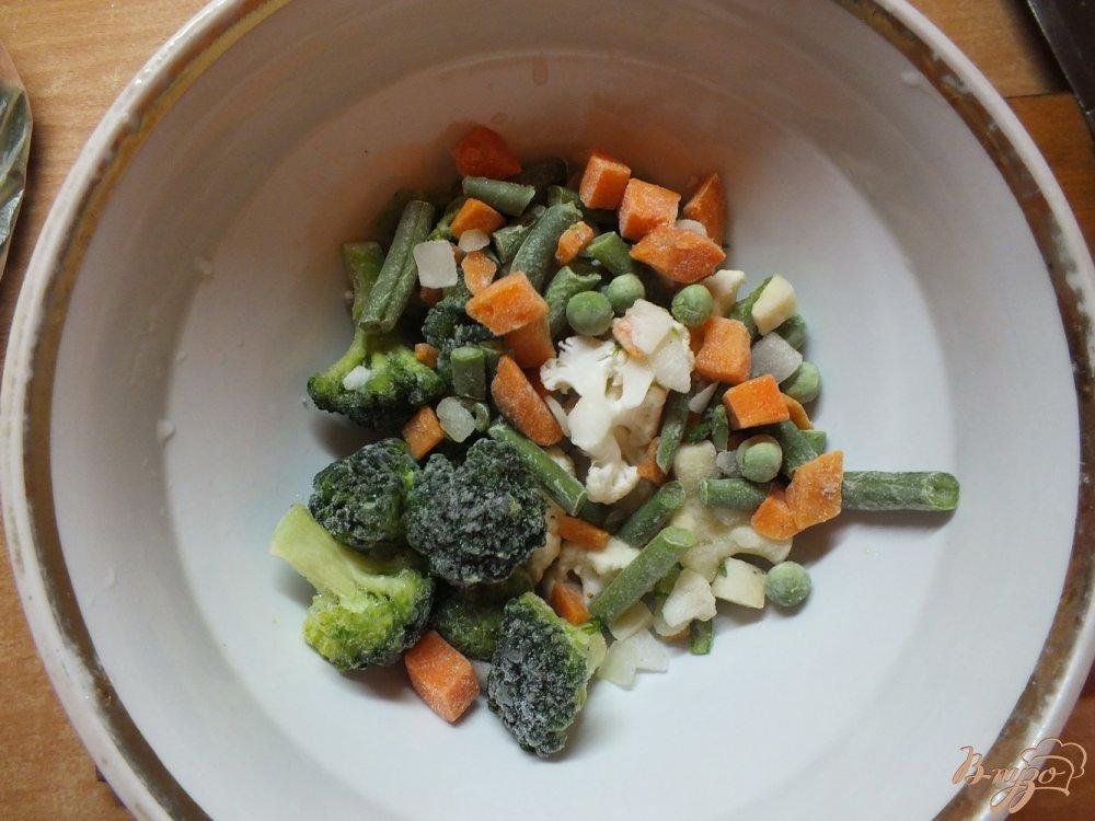 Фото приготовление рецепта: Суп с капустой брюссельской шаг №4