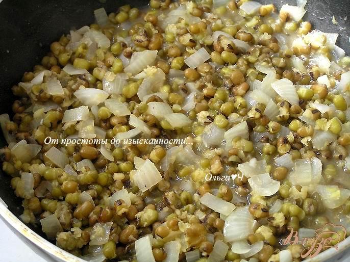 Фото приготовление рецепта: Фейжао из маша шаг №3