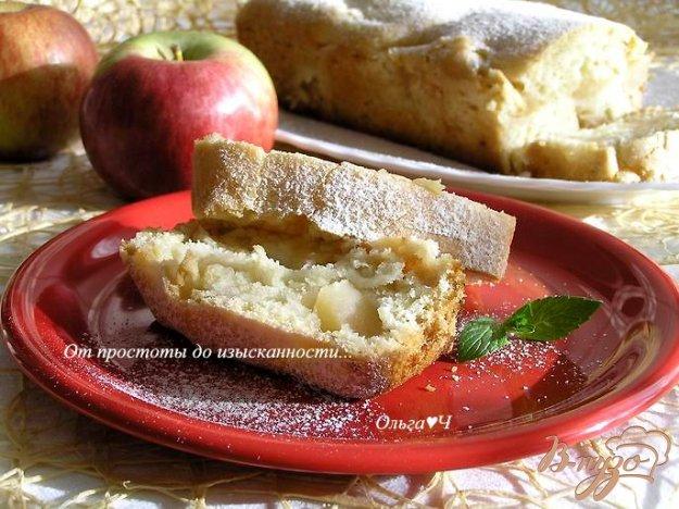 Рецепт Постный кекс с яблоками