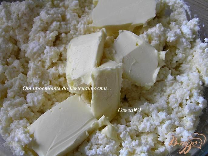 Фото приготовление рецепта: Творожник с малиной шаг №2