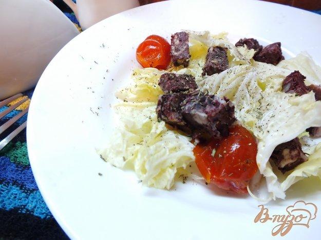 Рецепт Салат с кровяной колбасой