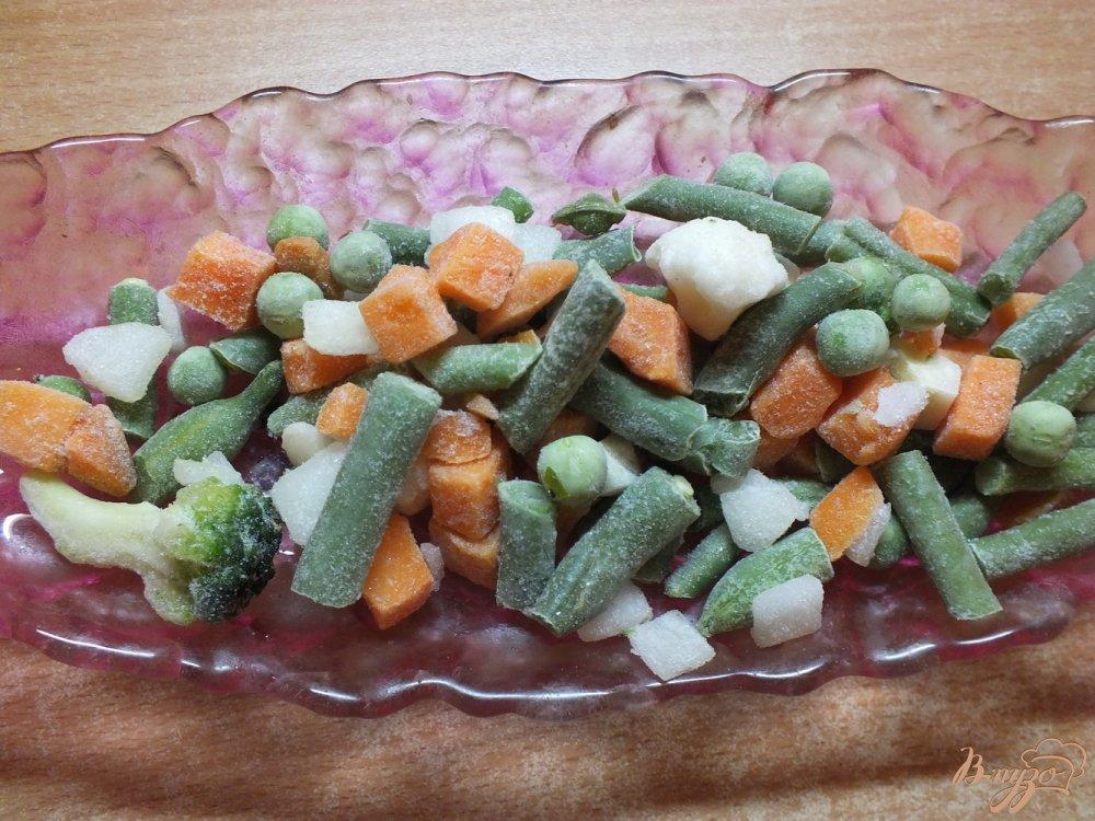 Фото приготовление рецепта: Суп с початками кукурузы и черри шаг №4