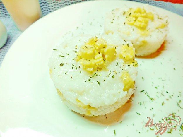Рецепт Рис с початками кукурузы и маслом тыквы