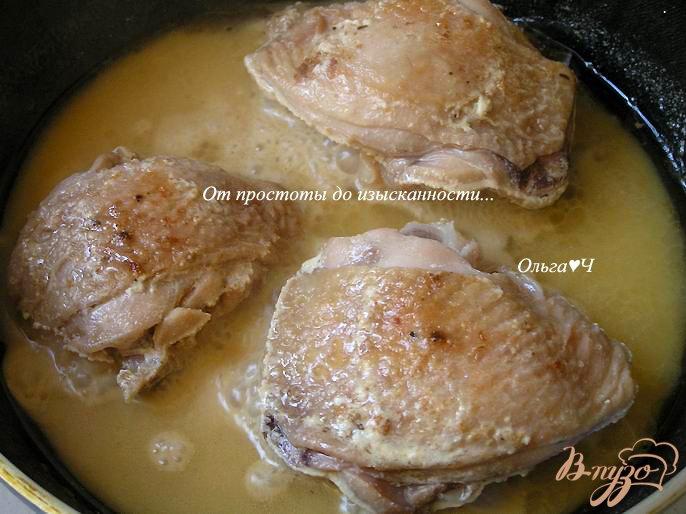 рецепт куриные бедра в соусе в духовке рецепт