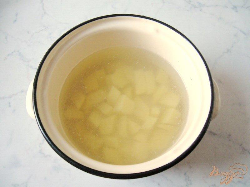 Фото приготовление рецепта: Рассольник с грибами шаг №1