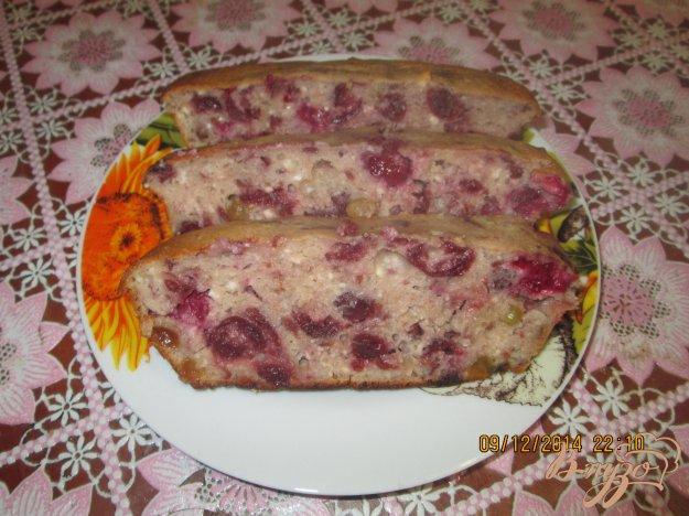 Рецепт Творожная запеканка с изюмом и малиной