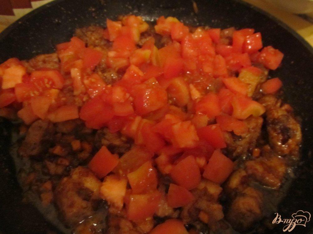 Фото приготовление рецепта: Бограч из свинины шаг №6