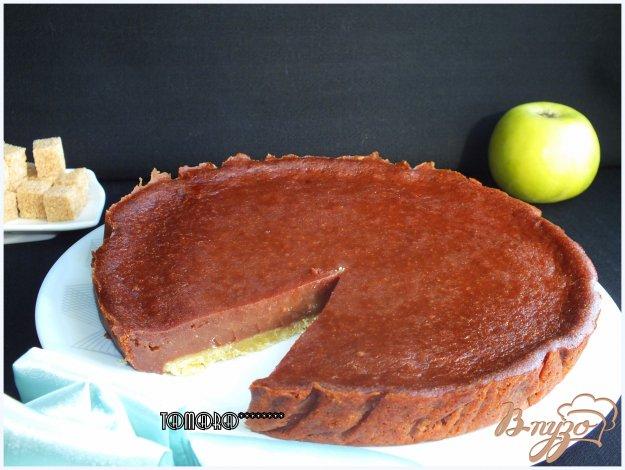 фото рецепта: Пудинг с яблоками тоффи