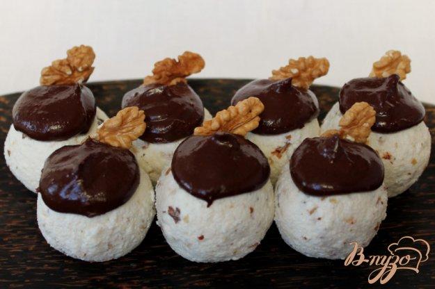 Рецепт Творожные шарики с шоколадом