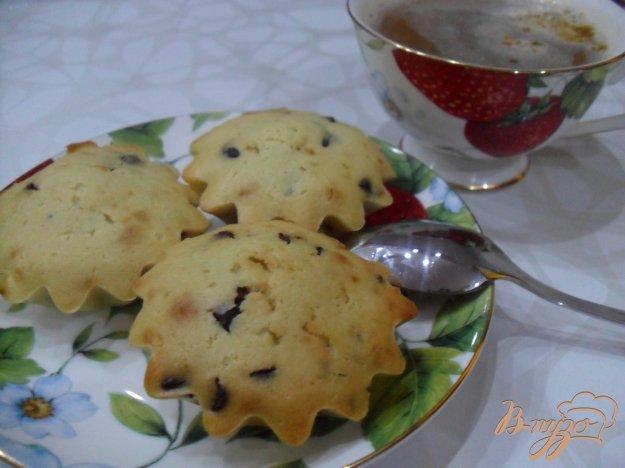 Рецепт Кекс с жидкой шоколадной крошкой