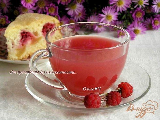 Рецепт Малиново-яблочный кисель