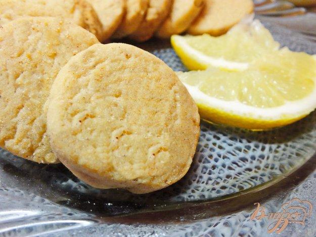 Рецепт Лимонное песочное печенье