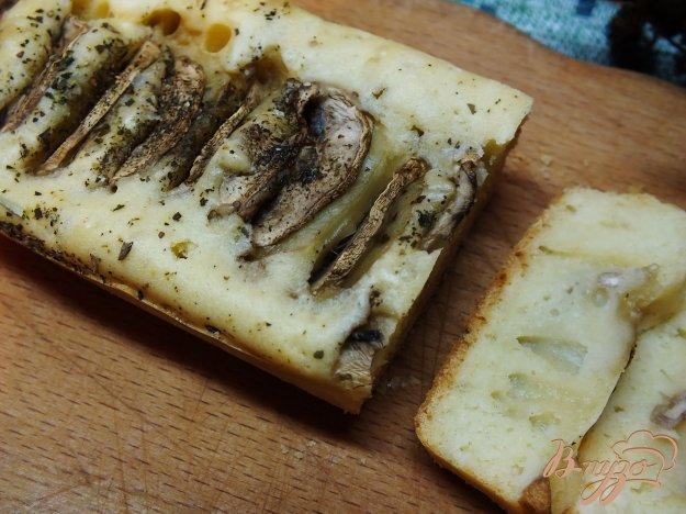Рецепт Кекс-хлеб с шампиньонами на белом вине
