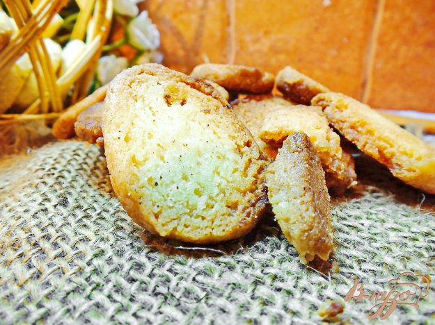 Рецепт Песочное печенье на скорую руку без яиц