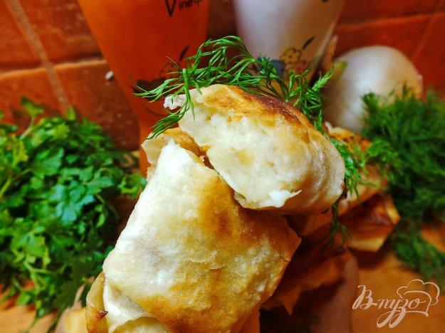 фото рецепта: Пирожки с картошкой из лаваша