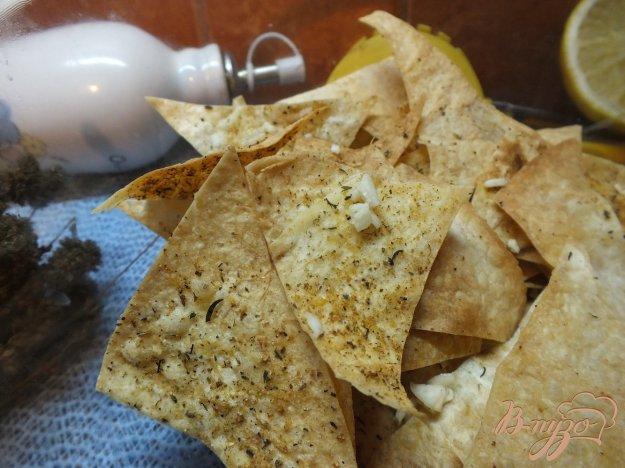 фото рецепта: Чипсы с чесноком