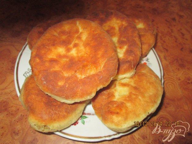 Рецепт Жареные пирожки на кефире с капустой