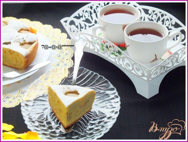 фото рецепта: Грушевый пирог на желтках