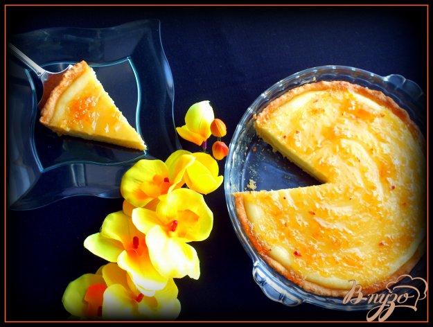 Рецепт Творожный тарт с лимонным джемом