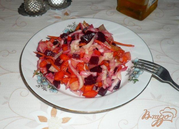 Рецепт Винегрет из запеченных овощей