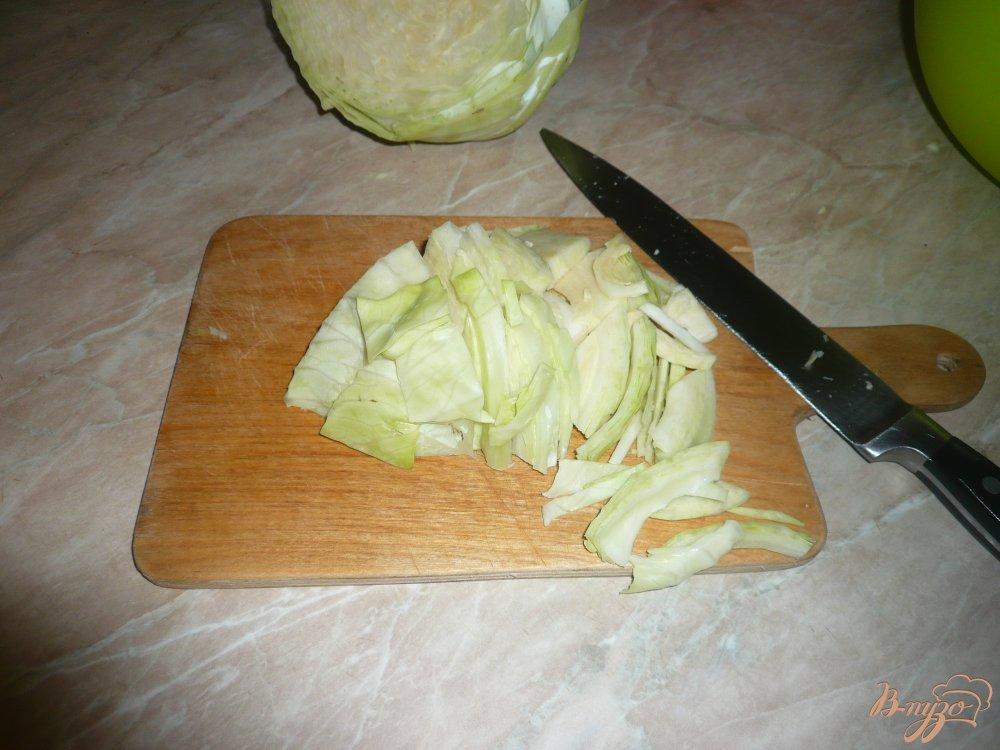 Фото приготовление рецепта: Капуста квашенная в рассоле шаг №1