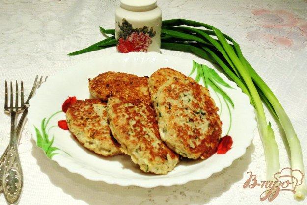 Рецепт Рыбные котлеты с отварным рисом и сыром