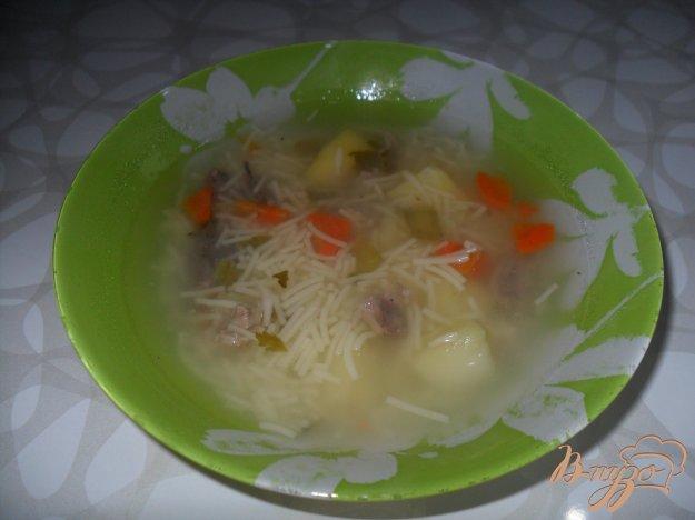 фото рецепта: Суп с утиным мясом.