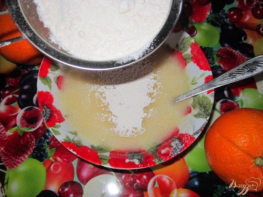 Фото приготовление рецепта: Апельсиновый манник шаг №3