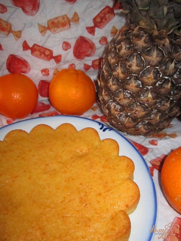 Фото приготовление рецепта: Апельсиновый манник шаг №5