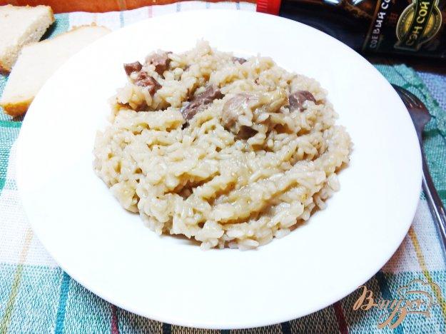 Рецепт Плов из говядины с соевым соусом
