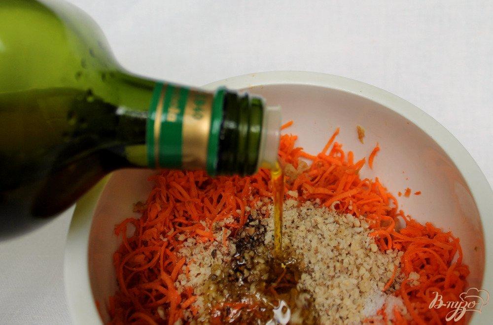 Фото приготовление рецепта: Морковный салат шаг №5