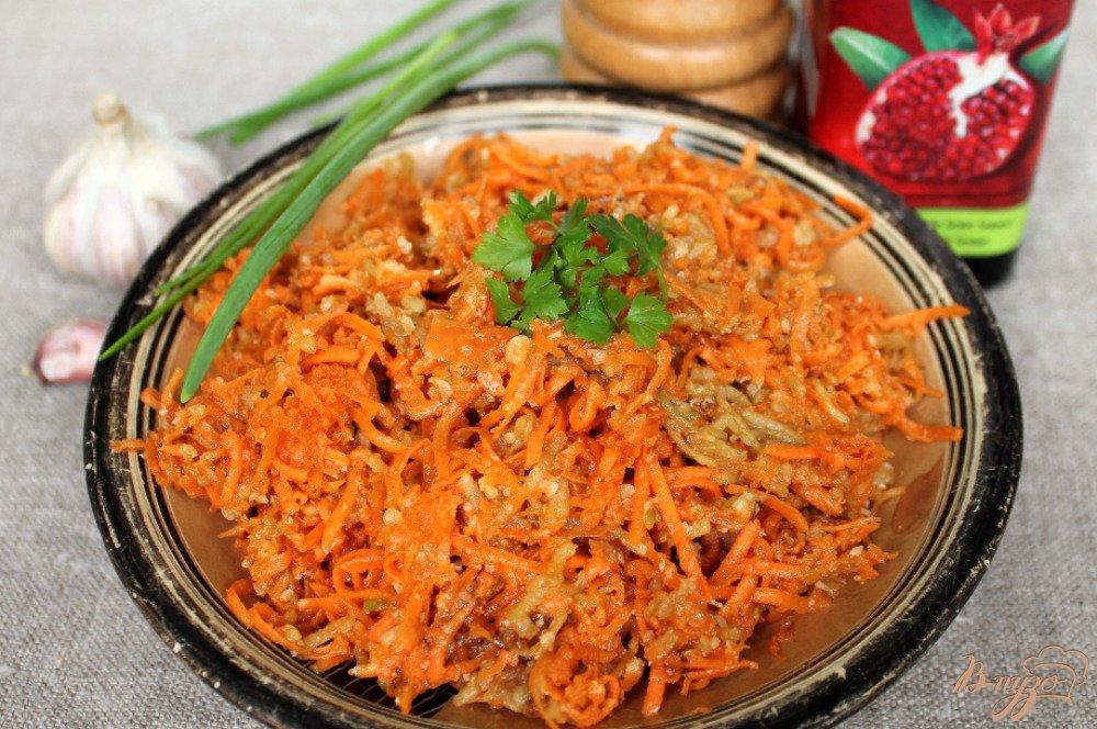 Фото приготовление рецепта: Морковный салат шаг №6