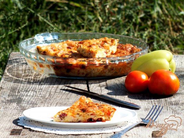 фото рецепта: Закрытая пицца-пирог
