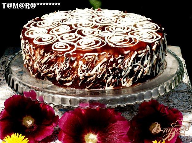 фото рецепта: Торт с малиновым суфле