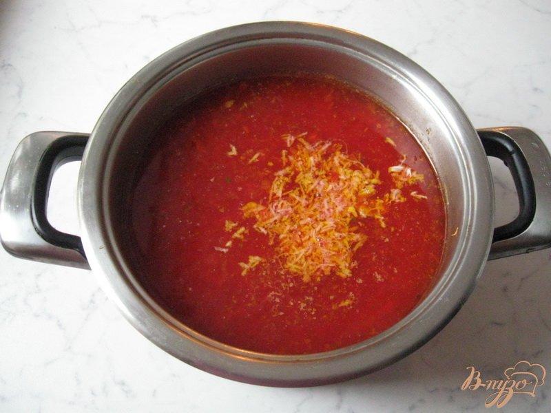 Фото приготовление рецепта: Борщ с квашеной капустой шаг №6