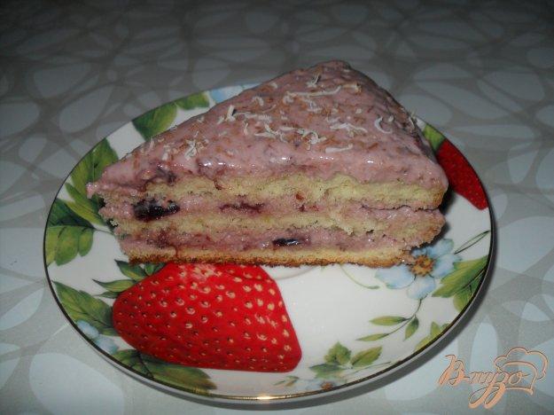 Бисквитный торт с вареньем рецепт