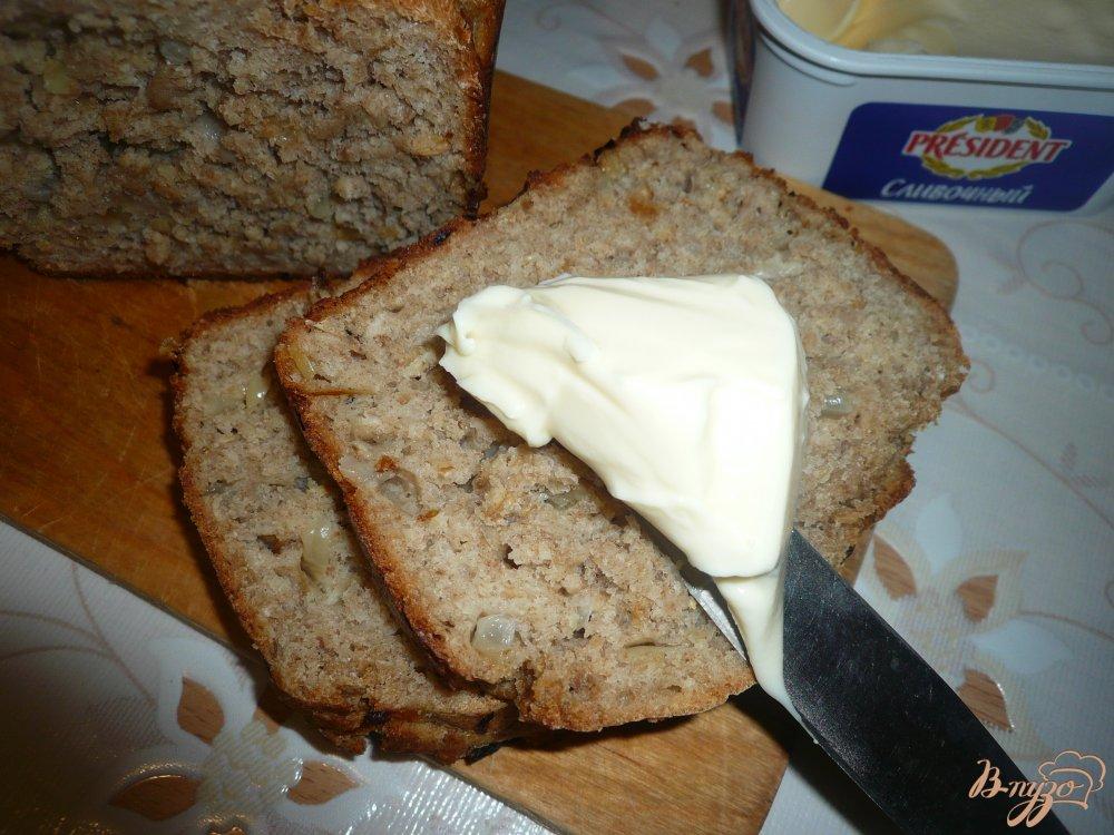 Фото приготовление рецепта: Овсяный хлеб с луком шаг №10