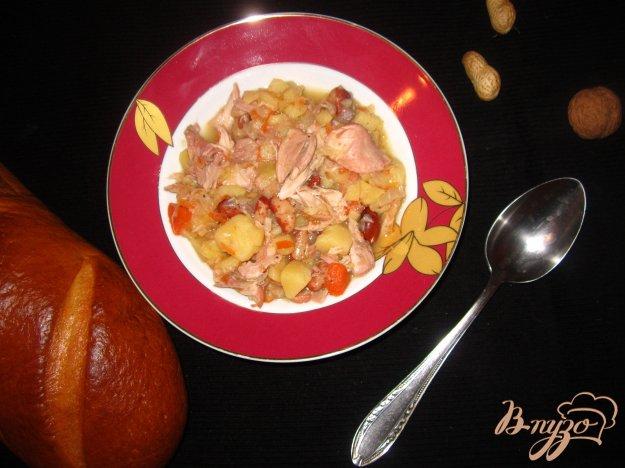 фото рецепта: Рагу в мультиварке с курицей и овощами