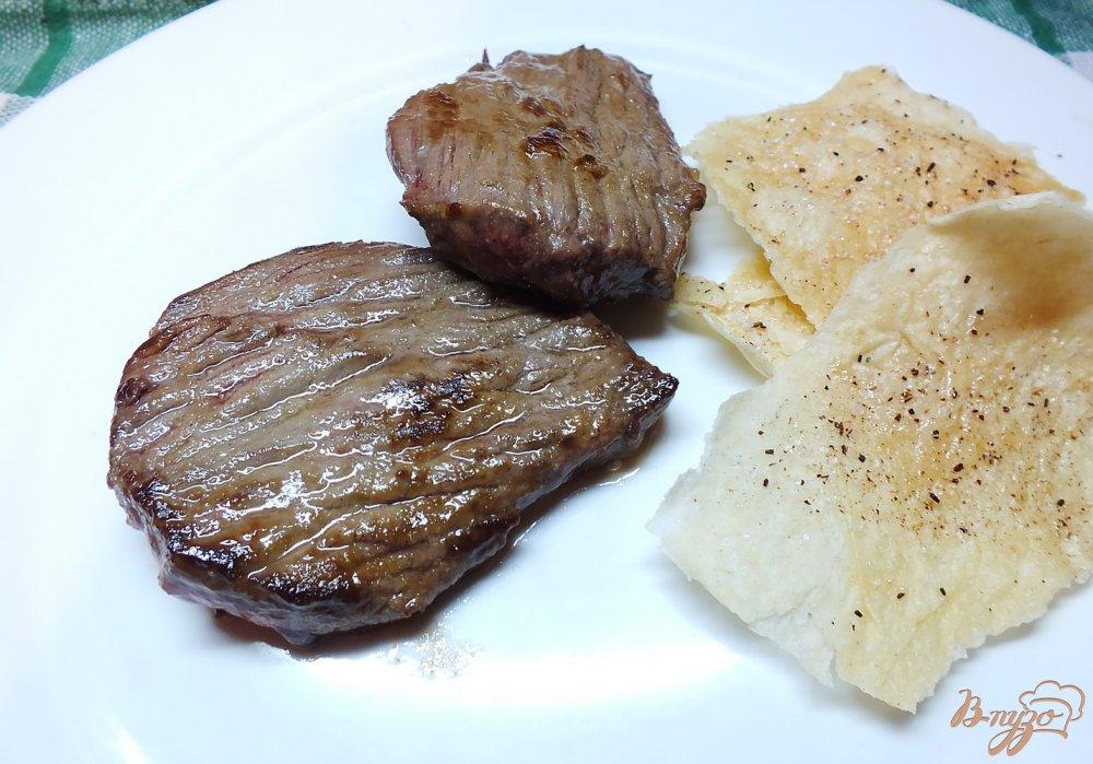 Фото приготовление рецепта: Говядина с кровью в горчице шаг №5