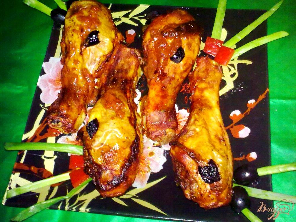 Фото приготовление рецепта: Куриные ножки в маринаде шаг №6