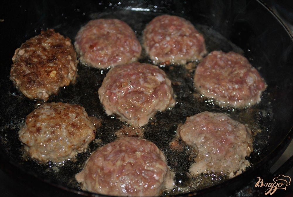 Фото приготовление рецепта: Котлетки с картофелем шаг №7