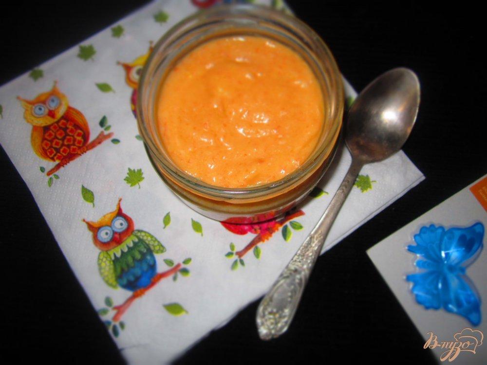 Фото приготовление рецепта: Детский крем суп с кроликом шаг №5