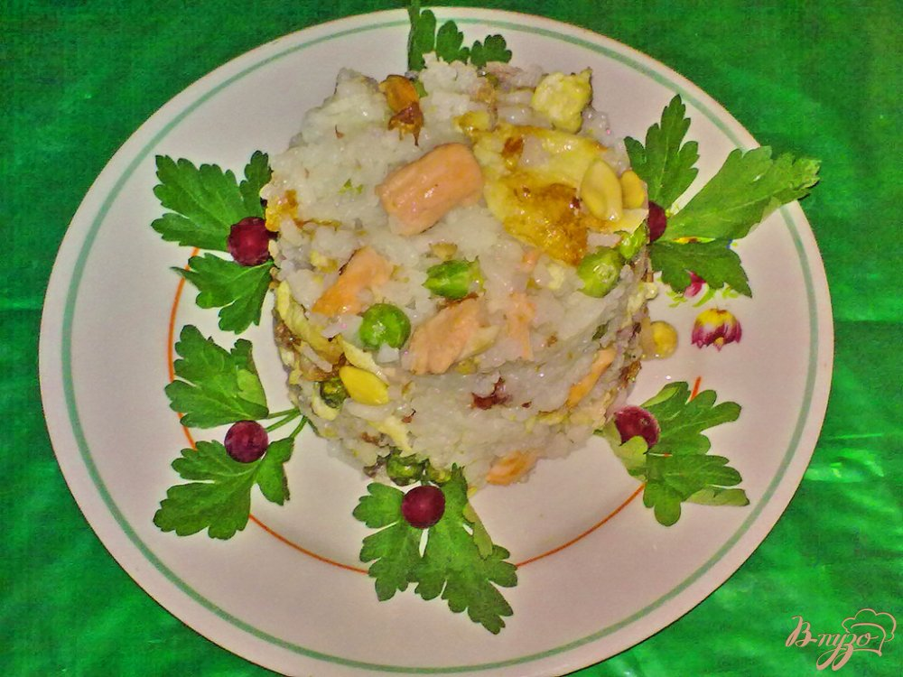 Фото приготовление рецепта: Рис
