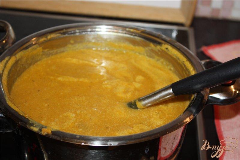 Фото приготовление рецепта: Суп-пюре из тыквы шаг №5