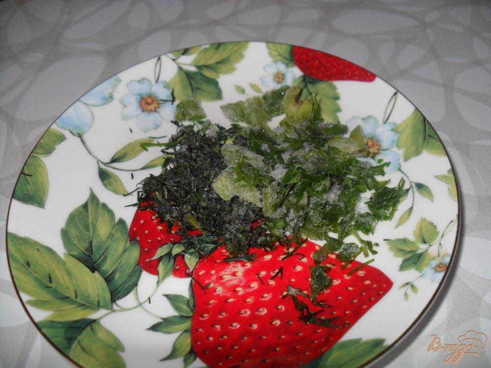 Фото приготовление рецепта: Суп с колбасой шаг №4